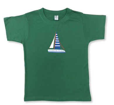 Sailboat Short Sleeve Tee
