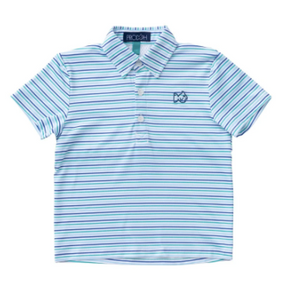 PERFORMANCE POLO IN CLUBHOUSE STRIPE