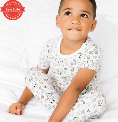 Brunch Brunch Modal Magnetic 2 Piece Toddler Pajamas