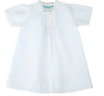 Girls Embroidered Folded Daygown