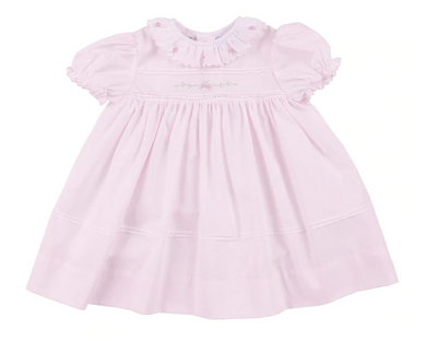 Scallop Rose Dress w/ Bloomer