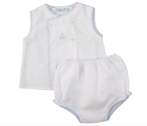 Sailboat Diaper Set