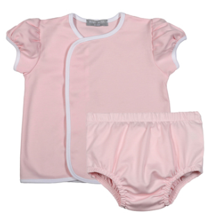 PINK PIMA DIAPER COVER SET