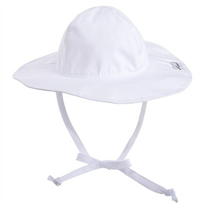 UPF 50+ Floppy Hat - White