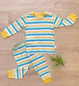 Boy's Long Sleeve Bamboo Sets (2 Colors Available)