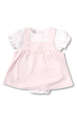 Kissy Kissy Jumper Set - Bunny Buzz Pink