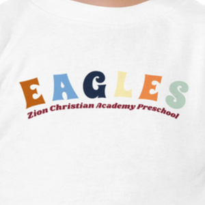 Adult Eagles Preschool Tee