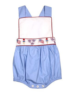 Patriotic Parade Sunsuit