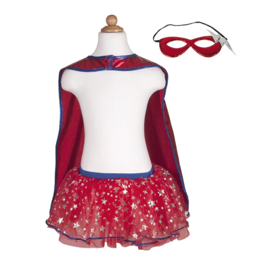Superhero Tutu, Cape & Mask Set