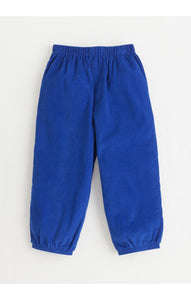 Banded Pull on Pant - Royal Blue