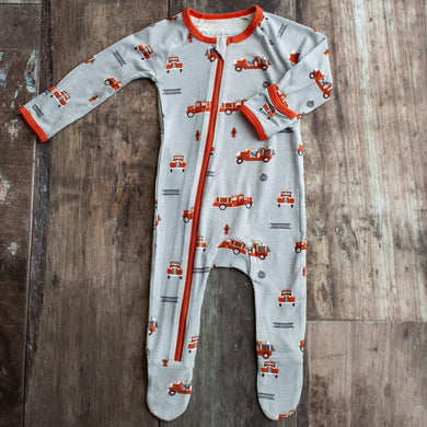 Bestaroo Firetrucks Zipper PJs