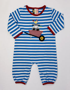 Down on the Farm Applique Romper