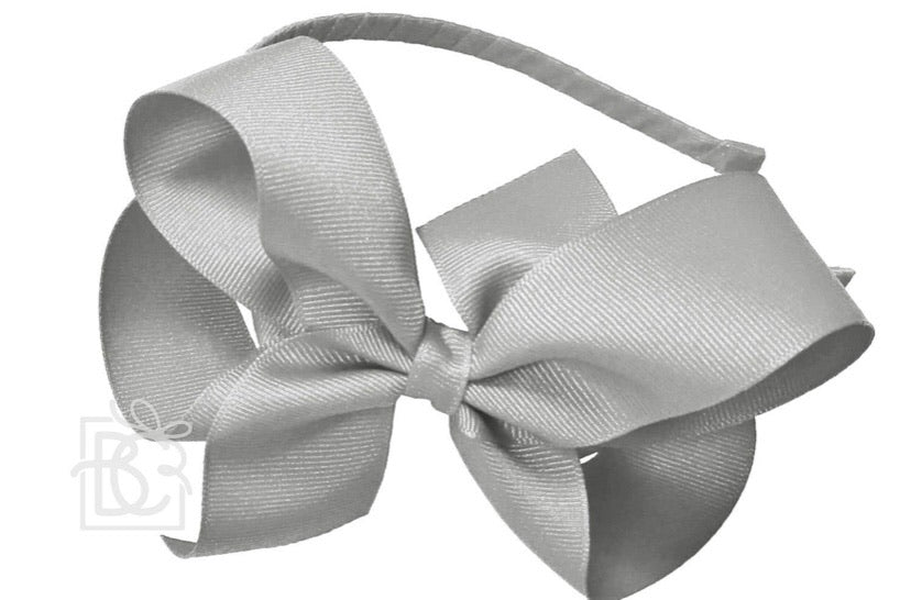 Ribbon Wrapped HeadBand with Classic 5.5