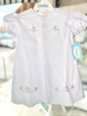 Girl Daygown with Pink Duck