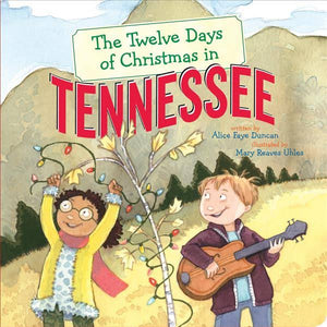 Twelve days Of Xmas in Tennessee BOARD BOOK