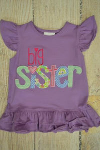 Big Sis Shirt - Short Sleeve