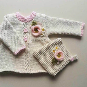 Natural Poppy Sweater