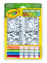 Crayola Color-In Socks (7 Varieties to Choose From)