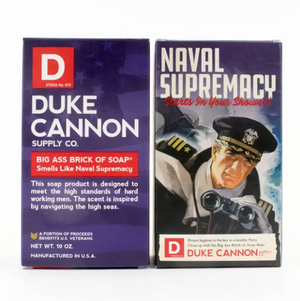 DC Naval Supremacy Soap