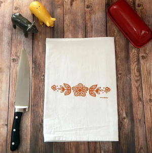 Green Bee Tea Towels