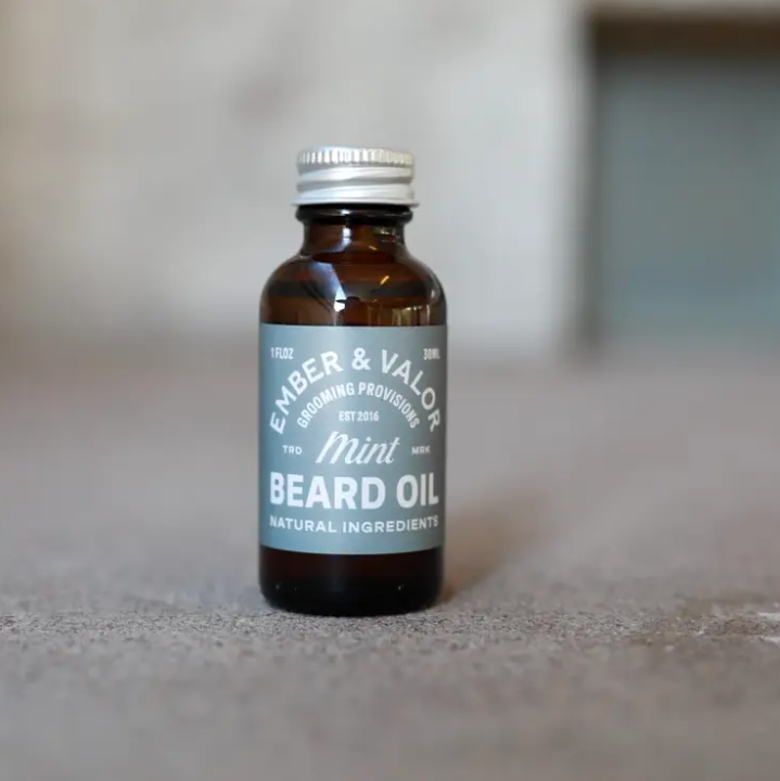 EV Mint Beard Oil
