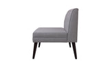 Madison Accent Settee, Light Grey