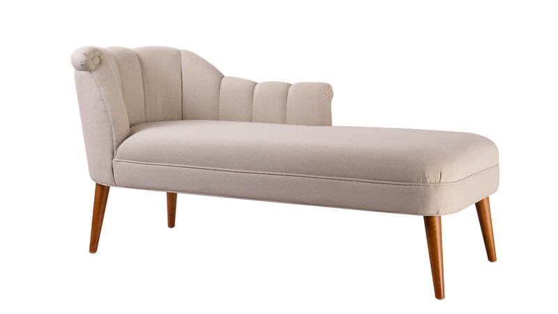 Florentine Chaise Lounge, Sky Neutral