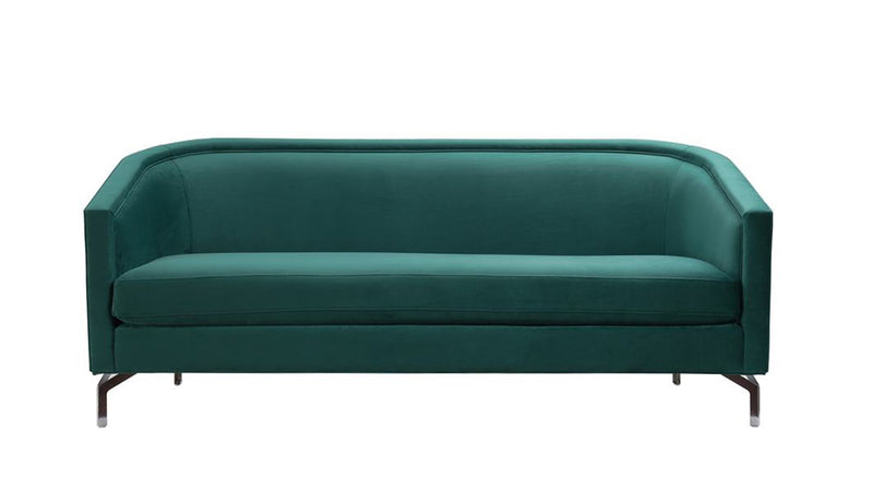 Annette Cabriole Sofa, Evergreen