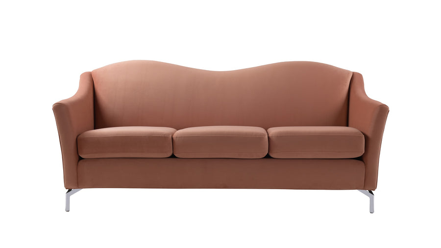 Vincent Camelback Sofa, Orange