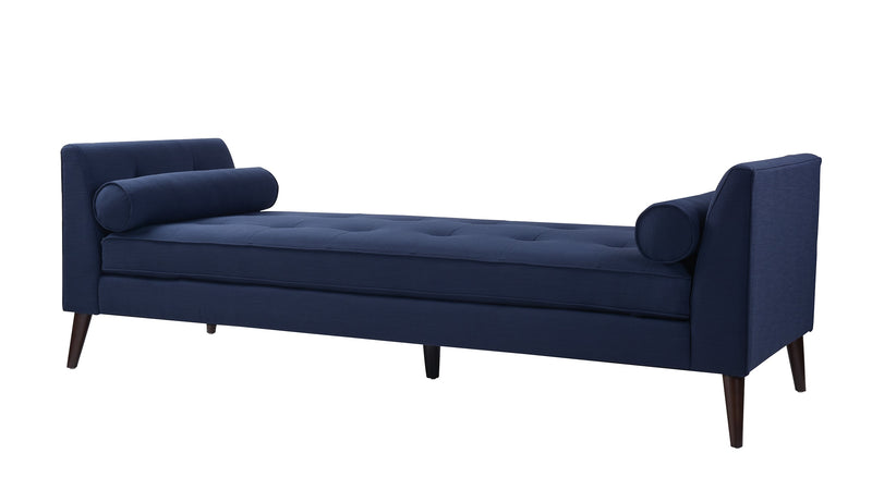 Blaine Tufted Sofa Bed, Midnight Blue