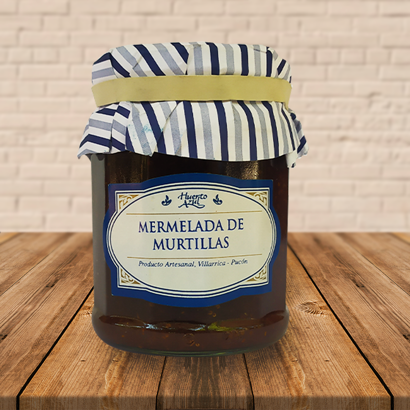 MERMELADA DE MURTILLAS