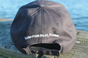Sandbar Sunday Embroidered Hat in Navy