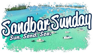 Sandbar Sunday Paradise Performance Tee - Ladies