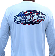 Sandbar Sunday Adult Stars and Stripes Performance Shirt