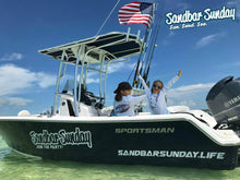 Sandbar Sunday (S.I.) Toddler/Youth Stars and Stripes - Sebastian Inlet, Fl