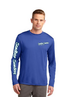 Long Sleeve Competitor in Patriotic Blue