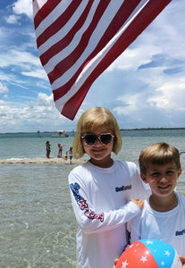 Sandbar Sunday Toddler/Youth Stars and Stripes