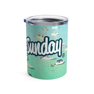 Sandbar Sunday Tumbler 10oz