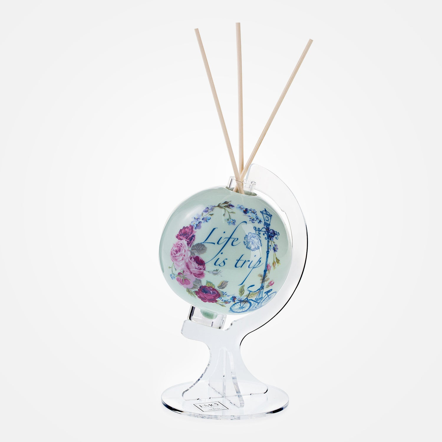 Life is Trip Perfume Diffuser - Le Globe Amore Collection by Emò Italia