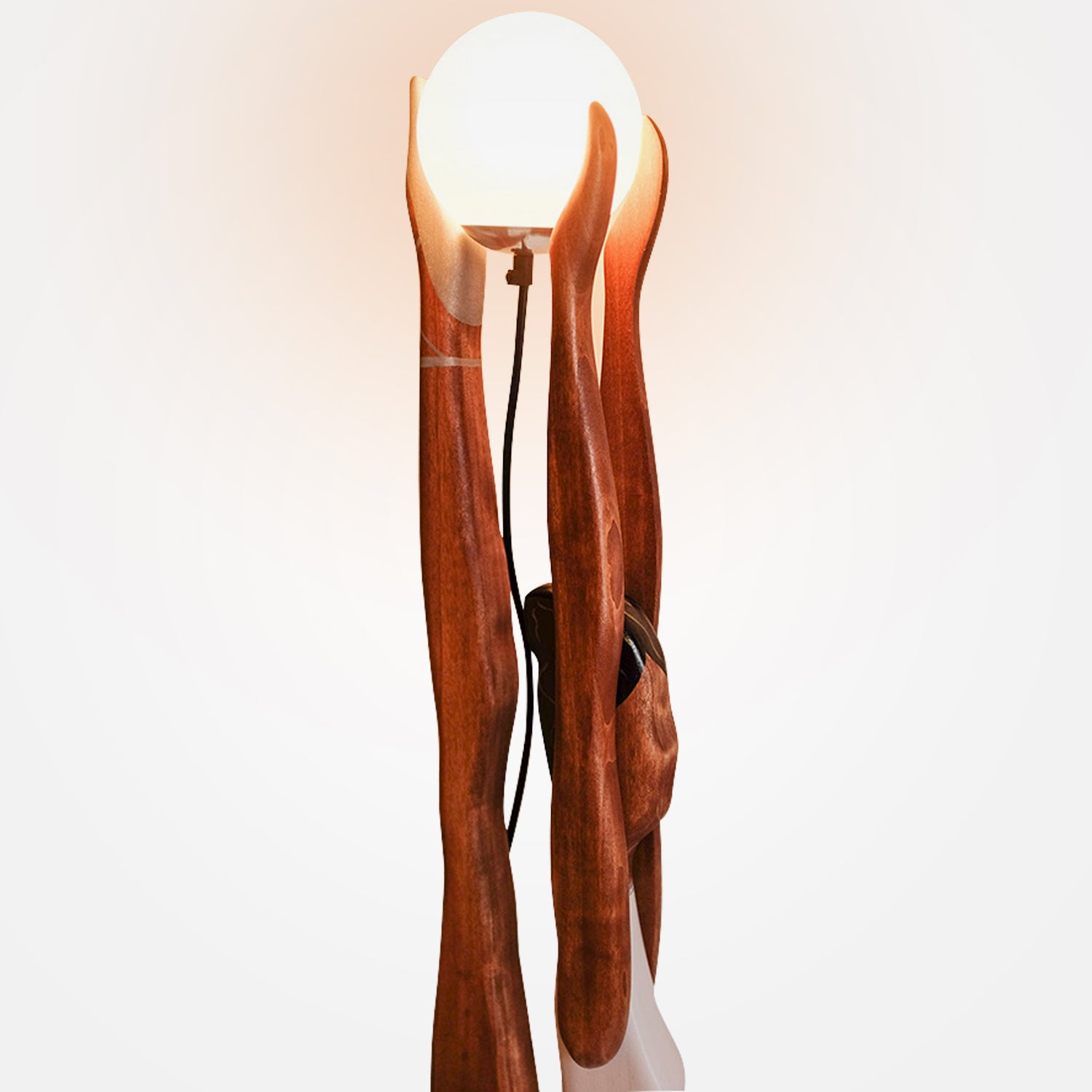 Stylish Ballerina Floor Lamp - Black Lady