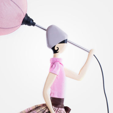 Stylish Lady Table Lamp - Pepa