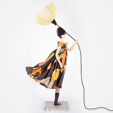 Stylish Lady Table Lamp - Rika