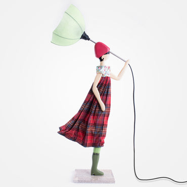 Stylish Lady Table Lamp - Sofia