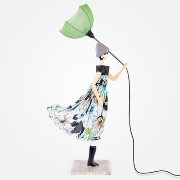 Stylish Lady Table Lamp - Tonia