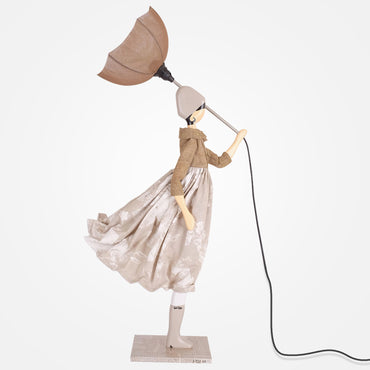Stylish Lady Table Lamp - Touli