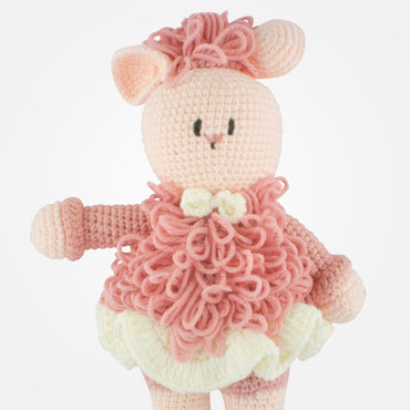 Saly - Handmade Crochet Soft Toy