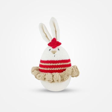 Dancing Linda - Handmade Crochet Soft Toy