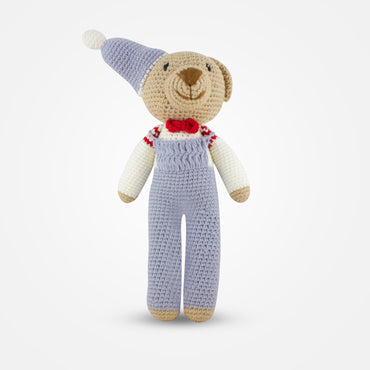 Tom - Handmade Crochet Soft Toy