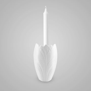 Palm Candle Holder 12.5 cm - Kaiser Porcelain - Goebel