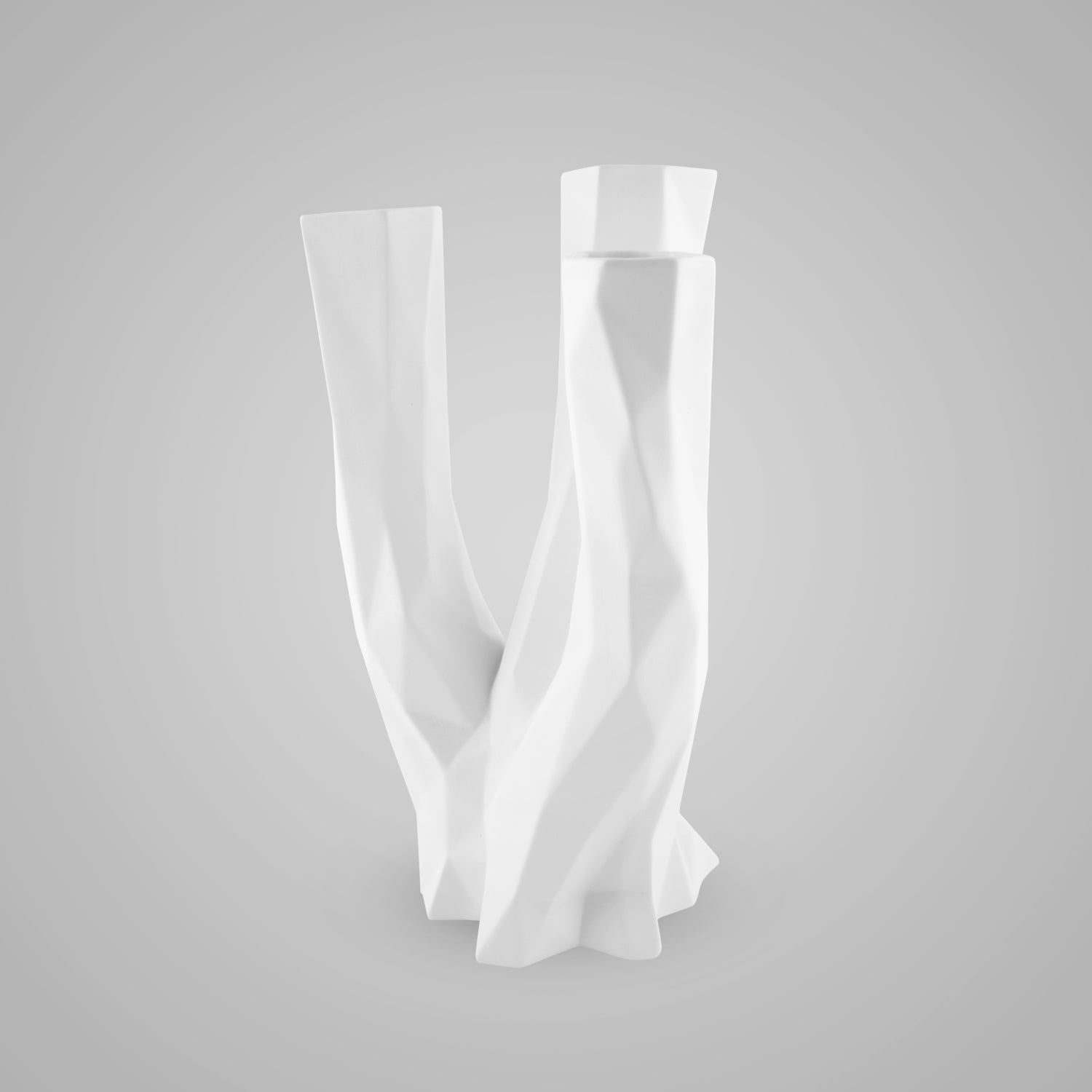 Polygono Triangle Vase 25 cm - Goebel